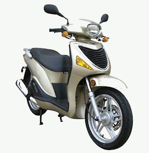 Picture of a Diamo Torino 150cc Scooter