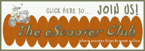 Join our eScooter club - an online scooter club for scooter lovers!