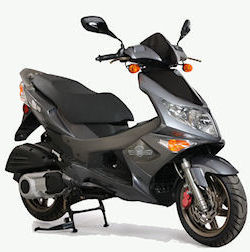There are many gas powered motor scooters brands, makes, and models