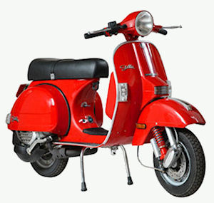 Gasoline scooters traditionally had 2-stroke engines