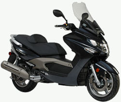 Kymco Xciting 500cc scooter picture