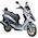 Beverly and Kymco Yager scooter profile