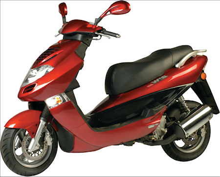 Wayne Aurandt - Kymco Bet and Win - eScooter Club Profile