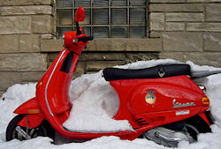 Winterizing your scooter is essential