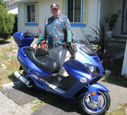 Bob Carter JM Star scooter picture