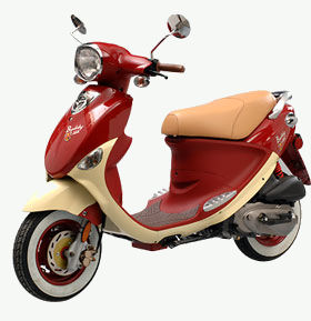 Genuine Buddy 50cc scooter picture