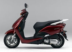 Honda Elite scooter is one of our Honda motor scooters reviews