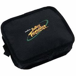 A motorcycle battery tender uitlity bag