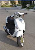 Yoly's Genuine Buddy scooter