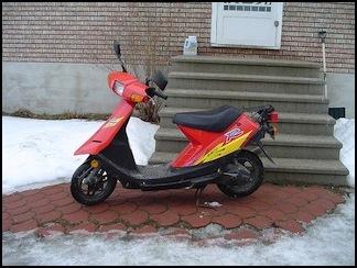 My Suzuki scooter
