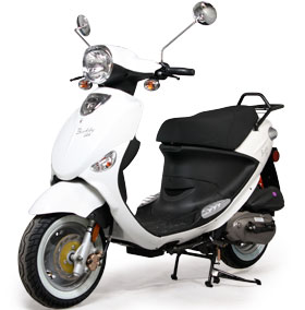 A 125cc Genuine Buddy Scooter