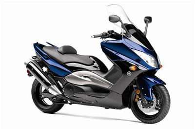 A 2009 Yamaha Tmax Scooter