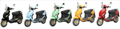49cc scooters pictures