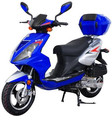 BMS Grand Prix 150cc Scooter Review