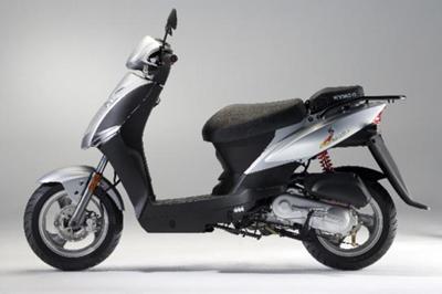 A Kymco Agility 50cc Scooter