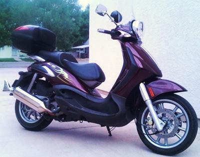 My Piaggio scooter