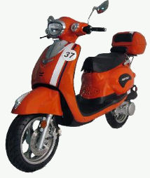 150cc scooter-Diamo Retro