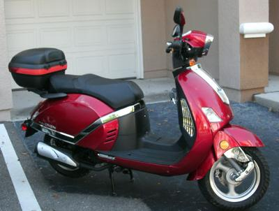 My Zhen scooter