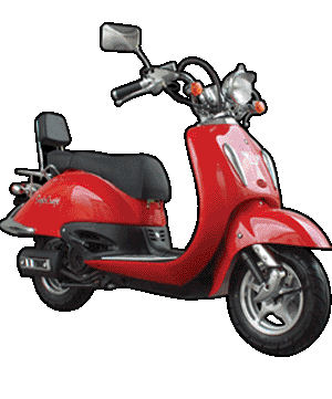 Motor Scooters Review on Eaglecraft Verano Scooter Review