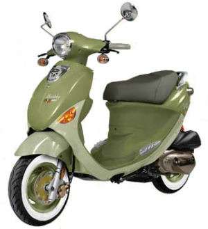 Genuine Buddy 125cc Scooter Review 2007 Series Italia