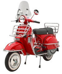 A Stella Scooter