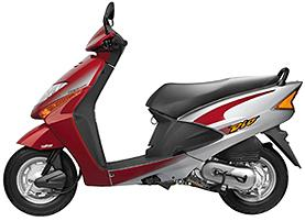 Photograph of a Honda Dio Scooter
