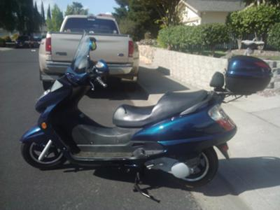 Jonway 150 Scooter