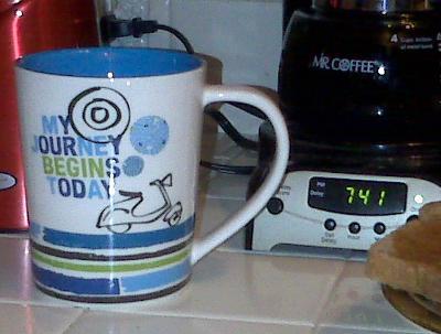My Starbucks mug