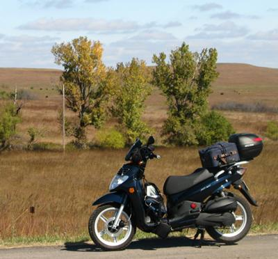 Fall in the Flint Hills of Kansas