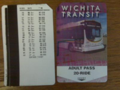 A used up bus pass