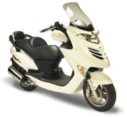 A Kymco GV 250 Scooter