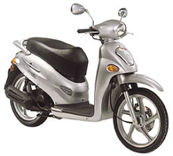 Kymco People 150 Photograph