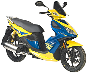Kymco Super 8 Scooter