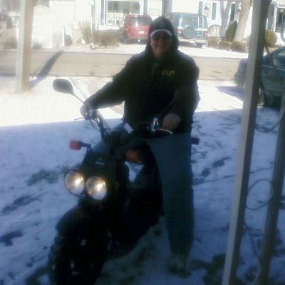 Laury Angel - Proud 2009 50cc Honda Ruckus Owner