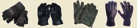 Motor Scooter Gloves Banner