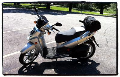 New 2009 SYM HD 200