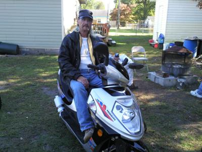 Ny larry proud owner of a 2010 velocity mp50qt 3 scooter Motor scooters jacksonville fl