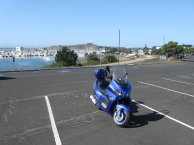 Blue Goose II at the harbor Half Moon Bay CA