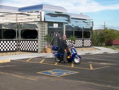 At our new 50's Diner