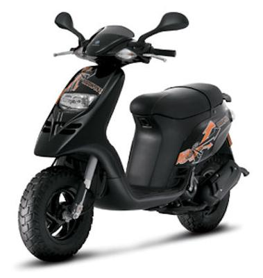 Motor Scooters Review on Piaggio Typhoon Motor Scooter Review