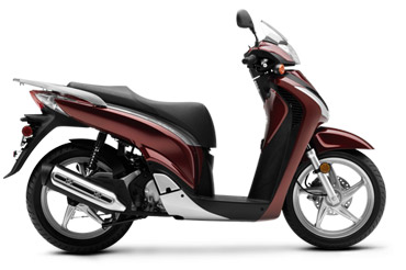 Motor Scooters Review on Review Of The Honda Sh150i Motor Scooter