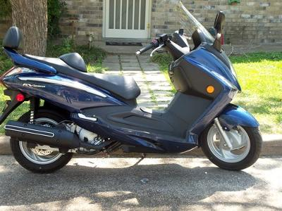 SYM RV250 Scooter