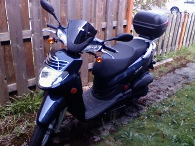 Steve's SYM HD Scooter