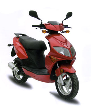 The Tomos Nitro 50cc Scooter
