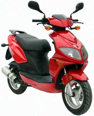 Motor Scooters Review on Tomos Nitro 50cc Scooter Review