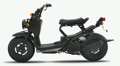 A Honda Ruckus