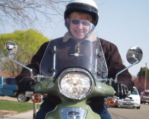 Motor Scooter Mama!