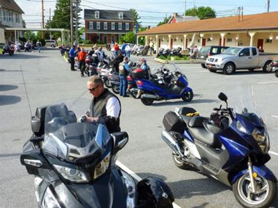 At Mid Atlantic Scooter Rally in PA