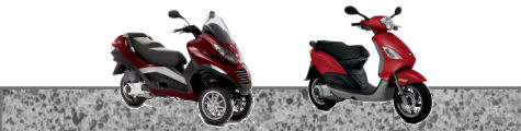 Piaggio Scooter Review Banner