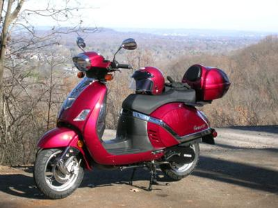 Review of Carino 150 LE 2008 Znen Scooter